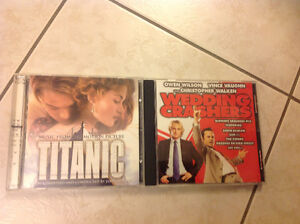 MOVIE SOUND TRACK CDS