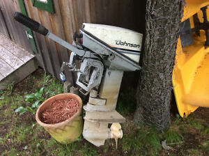 9.9 Johnson outboard motor