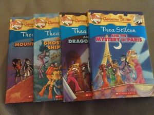 4 Thea Stilton books London Ontario image 1