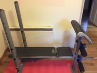 Domyos Workout adjustable Bench