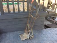 HAND SACK TRUCK TROLLEY, VERY SOLID.
