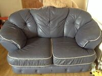 Quality leather two and three seater Free