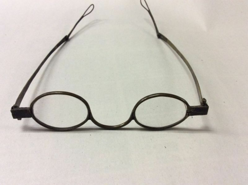 18th Century Antique Brass Turn Pin Spectacles Eye Glasses