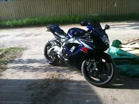 2007 Suzuki GSX-R 750 nicest bike in stoon