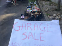 Victoria Day garage sale May 21: 9 am to 8pm today