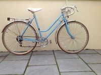 Ladies womens classic road racer racing bike 1970s