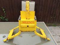 Milenco heavy duty wheel clamp
