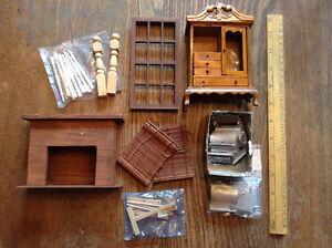 Miniature Furnishings & Accessories
