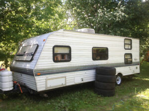 1998 28' Terry travel trailer with bunks