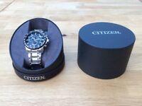 Brand New Citizen Men's Eco-Drive Watch AT4008-51E
