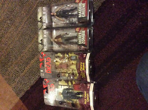 The Walking dead action figures! New! Prices listed