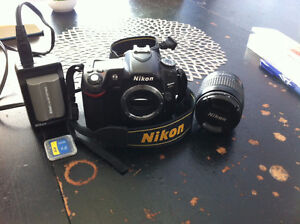 Nikon D80 DSLR and Nikon 28-80mm f/3.3-5.6G AF Nikkor Lens