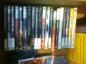 Assorted games. xbox 360, wii gamecube ps2. Taking offers