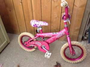 """4- 12""""D tire kids bikes - let's have fun $20-$25-$30"""
