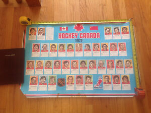 Vintage Team Canada poster - epic Russia-Canada 1972 hockey play