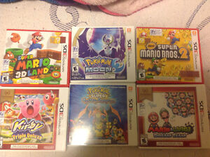 Selling 6 Nintendo 3ds games $80 for them all
