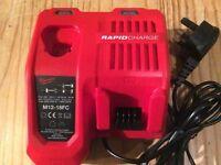 Milwaukee 18v rapid charger