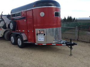 Nice redone horse/stock trailer