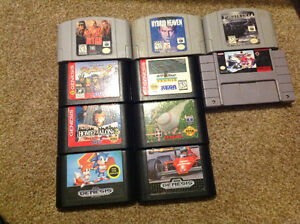 Mix of Sega, N64, Wii and Gamecube Games $5 each