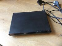 Sony DVD player with remote control hardly used.
