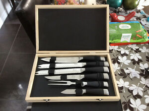 Set of Knives Kitchener / Waterloo Kitchener Area image 1