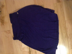 Women's size S purple ROOTS skirt