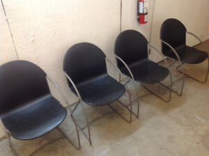 STACKING RECEPTION CHAIRS ....reduced....!!!!!!!