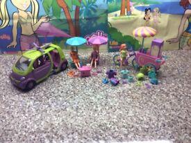 Polly Pocket Beach Scene