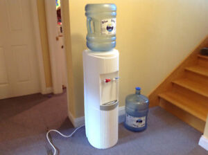 Water Cooler with two bottles
