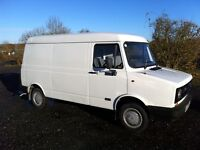 Leyland daf 200 city van 2.0 petrol 1 owner from new only 43.000 miles