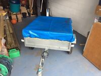 Trailer 1.71m x 1.23m with W/P Cover & Spare Wheel - Mint Condition