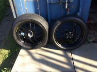 Ducati Panigale wheels and tyres