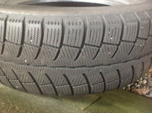 Set of 4 winter tires 245/65r17. Lots of tread!