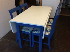 Custom Kitchen Table & Chairs PRICE REDUCED