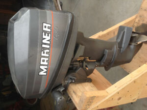 8 HP Mariner outboard