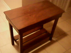 Wood Table Stand