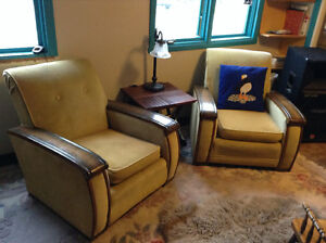 Funky, art deco, accent chairs for sale St. John's Newfoundland image 1