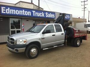 2007 Dodge  Ram 3500 SL FLAT DECK/PICKER DIESEL 4X4