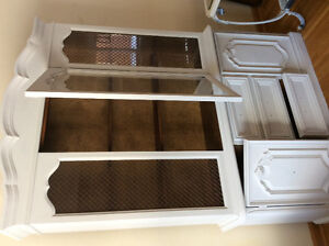 Magnificent display vintage cabinet 2piece at LOW price WOW! London Ontario image 1