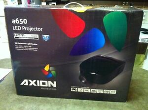 "72"" axion a650 led projector tv"