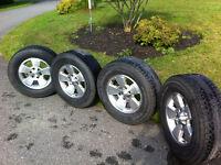 tacoma wheels and tires