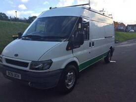 LWB Ford Transit, low mileage, reliable van