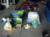 Hamster Cage, Food, and toys For Sale! Assorted Hamster Stuff!!!