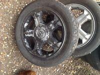 Alloy wheels x5