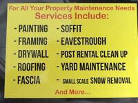 Property Maintenance &Renos