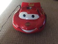 Cars CD player and radio