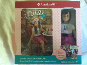 American Girl Grace mini doll and book set