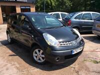 2007/07 NISSAN NOTE 1.4 SE SMALL FAMILY CAR