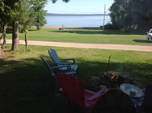 Location location. 3 bdrm cottage camping trailer, lac dore