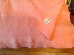 Vintage Ayers All Wool Blanket Quilt